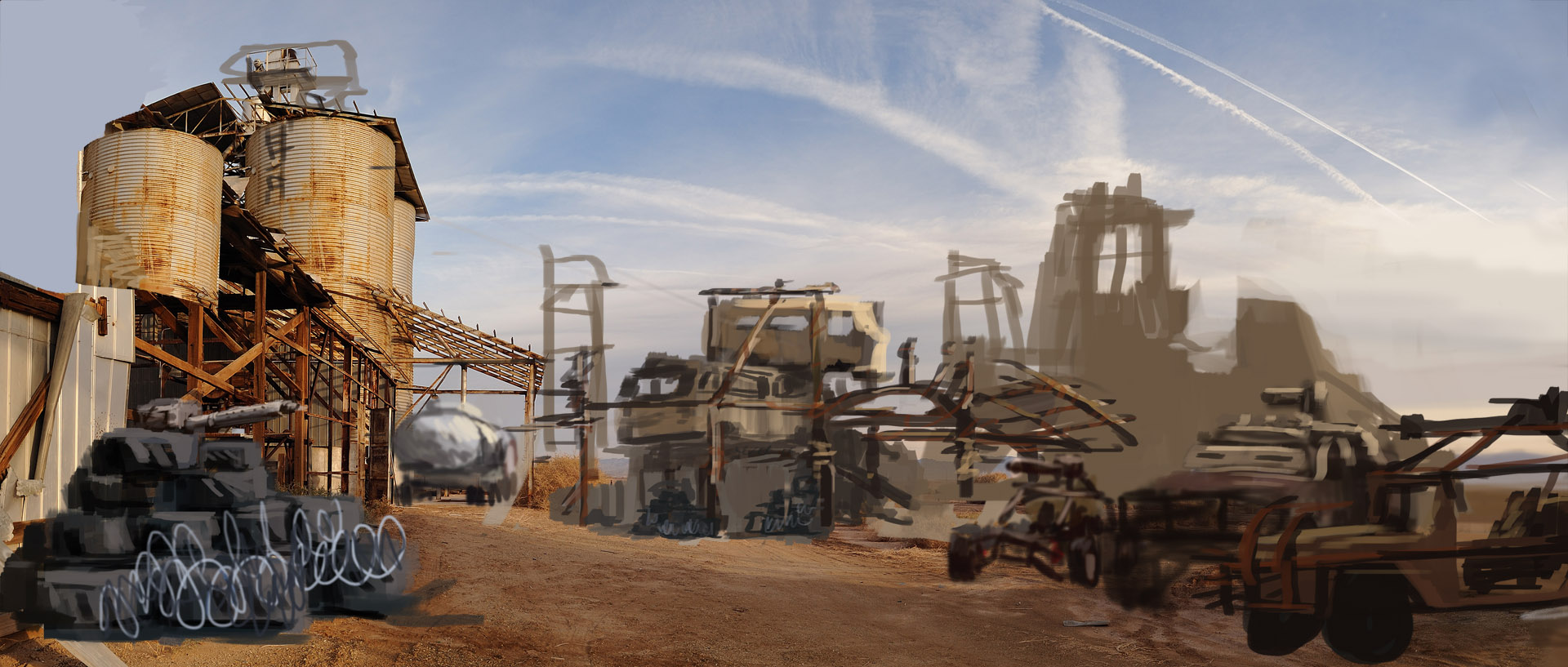 Mad Max Game Building A Base