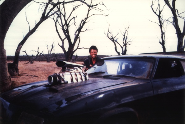 mel gibson mad max. Mad Max Interceptor with Mel