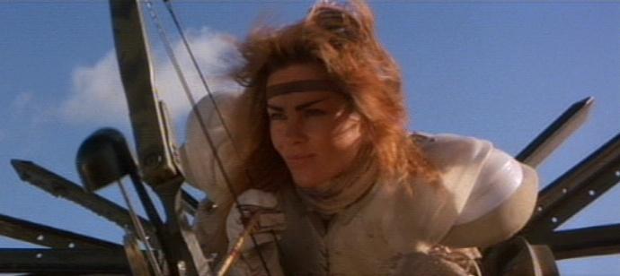 Mad Max 2 Cast - Virginia Hey / Warrior Woman