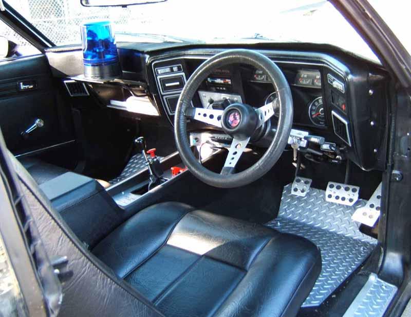 mad max fan cars paul miller 39 s black interceptor replica. Black Bedroom Furniture Sets. Home Design Ideas