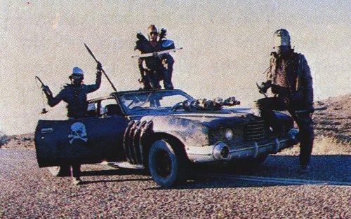 Mad Max 2 The Road Warrior Vehicles The Landau