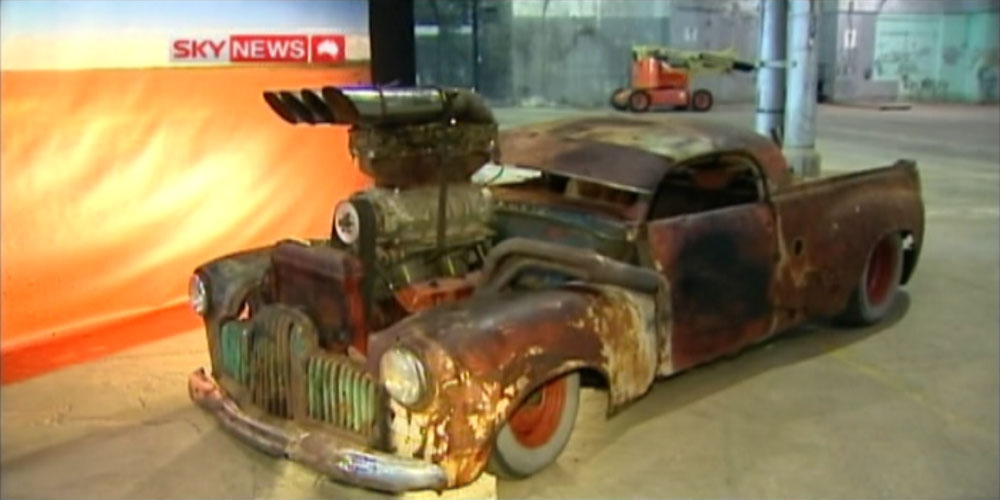 Mad Max 4 Fury Road Cars - FX Holden Ute