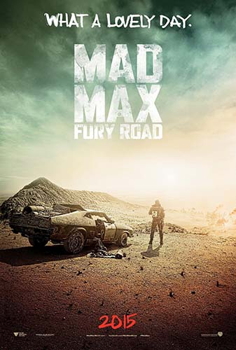 Mad Max Fury Road San Diego Comic Con Poster