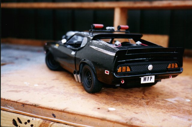 Mad Max Custom Models Of Vehicles Simon Beck S Custom Models