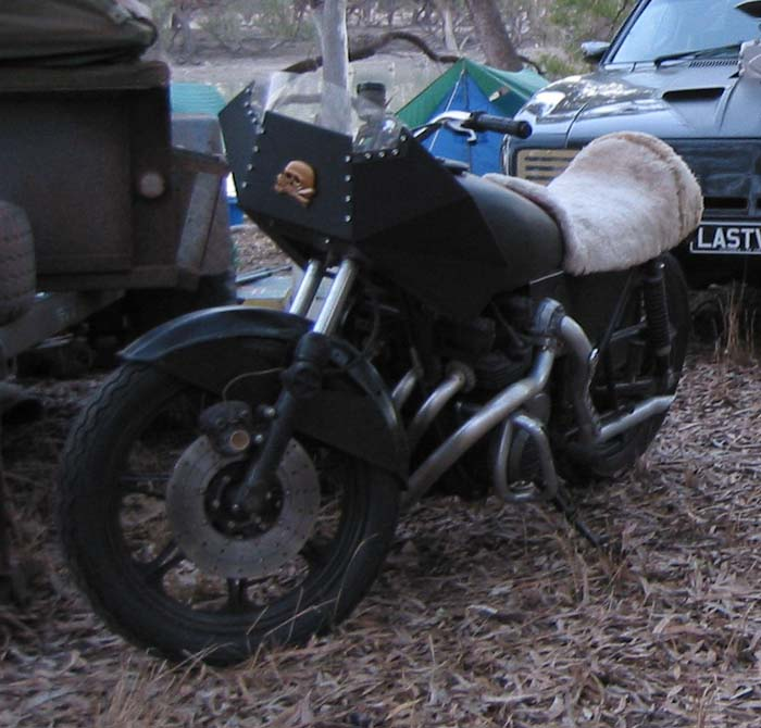 Mad Max Fan Cars Wez Bike Replica From Back 2 The Max