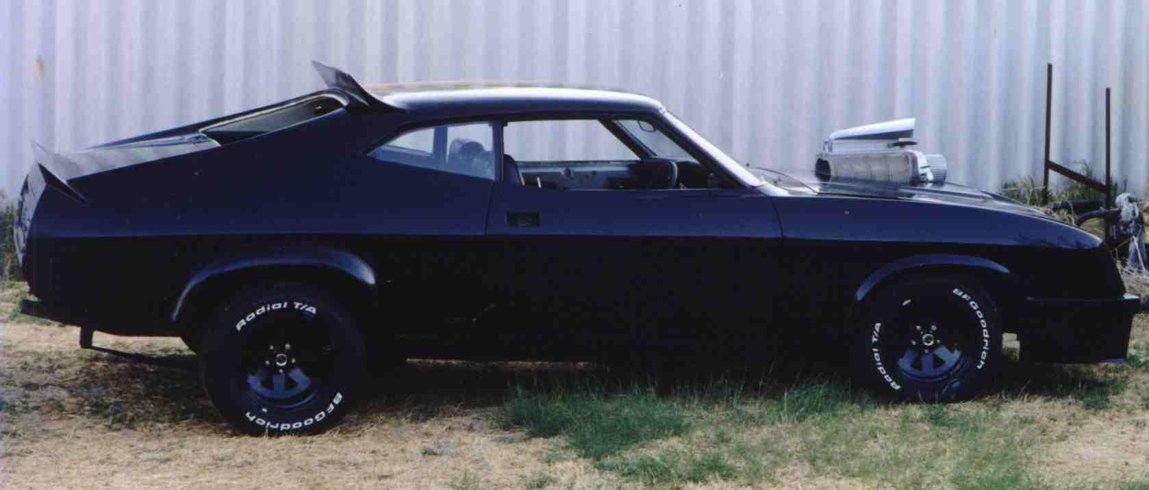 Mad Max Fan Cars Gordon Hayes Black Interceptor 2
