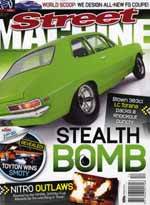 Street Machine, December 2008 - Front Cover