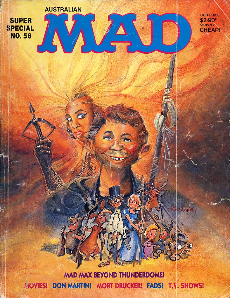 Mad Max Publicity Material Archive - Entertainment ...