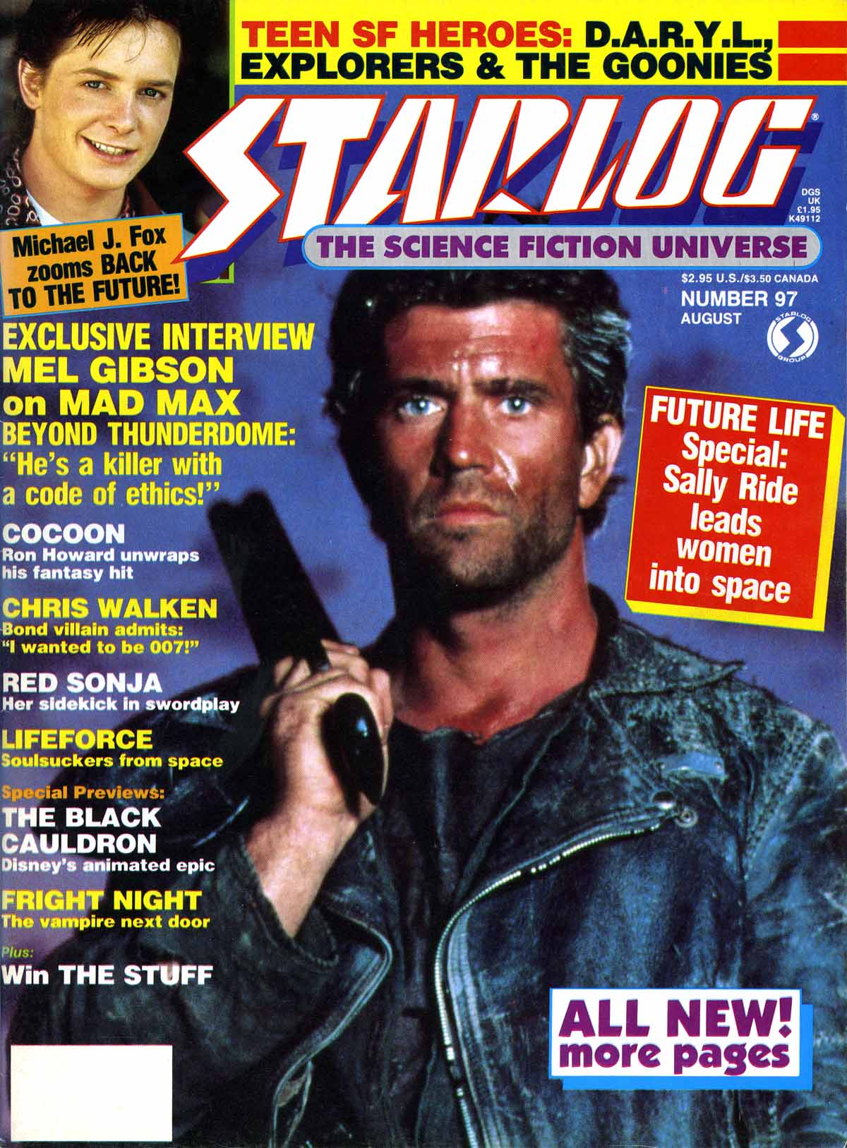 Mad Max Movies - Magazine Archive, Starlog Vernon Wells Mad Max