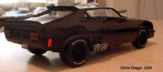Build A Car From Scratch >> Mad Max Model Kits - Mad Max Interceptor Model Kit by ...