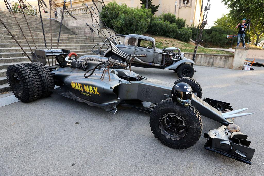 mad max fury road joins lotus at the spanish grand prix rh madmaxmovies com