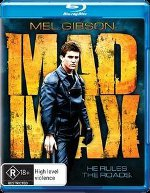 Mad Max Blu-ray Australia - Cover Version 1
