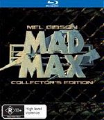 Mad Max Blu-ray Australia - Cover Version 2