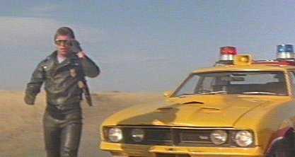 Mad Max Cars Max S Yellow Interceptor 4 Door Xb Sedan